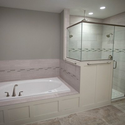 Bathroom with Tub and Separate Shower