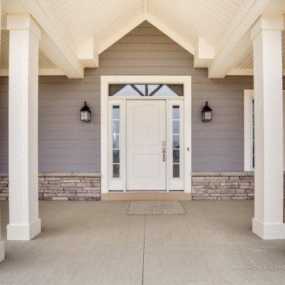 Lot 55 - Hawthorne Park Estates - Front entrance