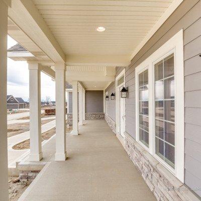 Lot 55 - Hawthorne Park Estates - Front porch