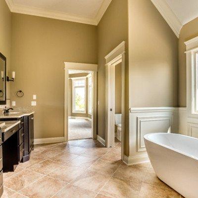 Lot 12 – Heron Preserve: 14534 Gateside Dr. - Master Bathroom