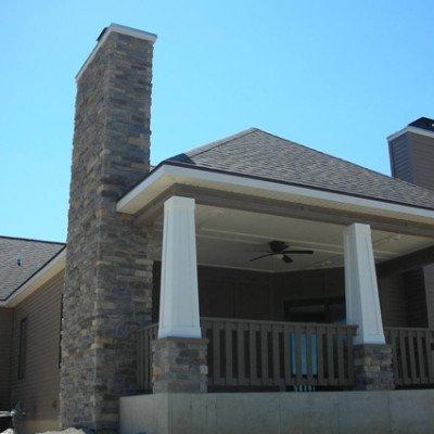 Lot 2 Grey Oaks - Back Porch