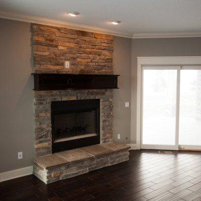 Lot 2 Grey Oaks - Fireplace Angle