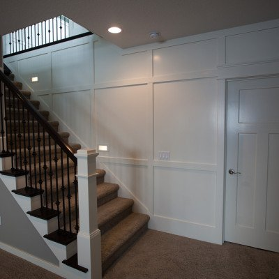 Lot 2 Grey Oaks - Lower Level Stairs