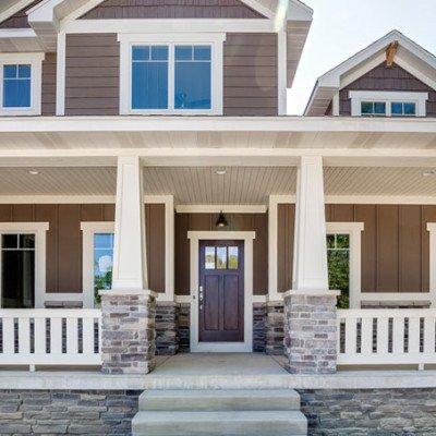 Lot 30 Deer Hollow - Front porch