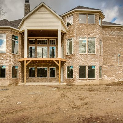 Lot 1 – The Cliffs: Cantwell Blvd - Back porch