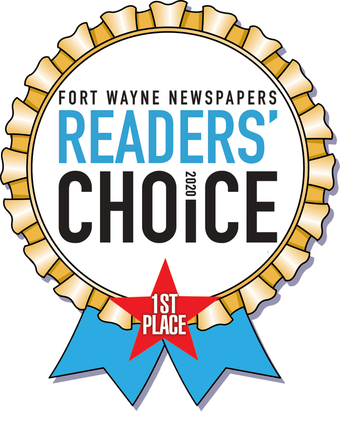 Fort Wayne' Newspaper Reader's Choice Award 2020 Winner